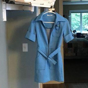 Blue Vintage Dress—one of a kind